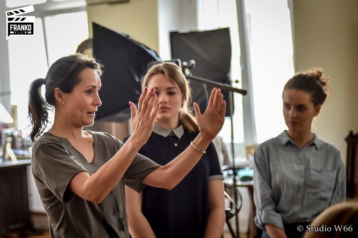 Elisabeth Duda i Yann Seweryn – Przygotowanie się do castingu